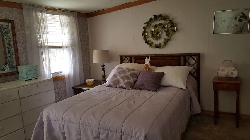 Bedroom #2, Double bed, crib available