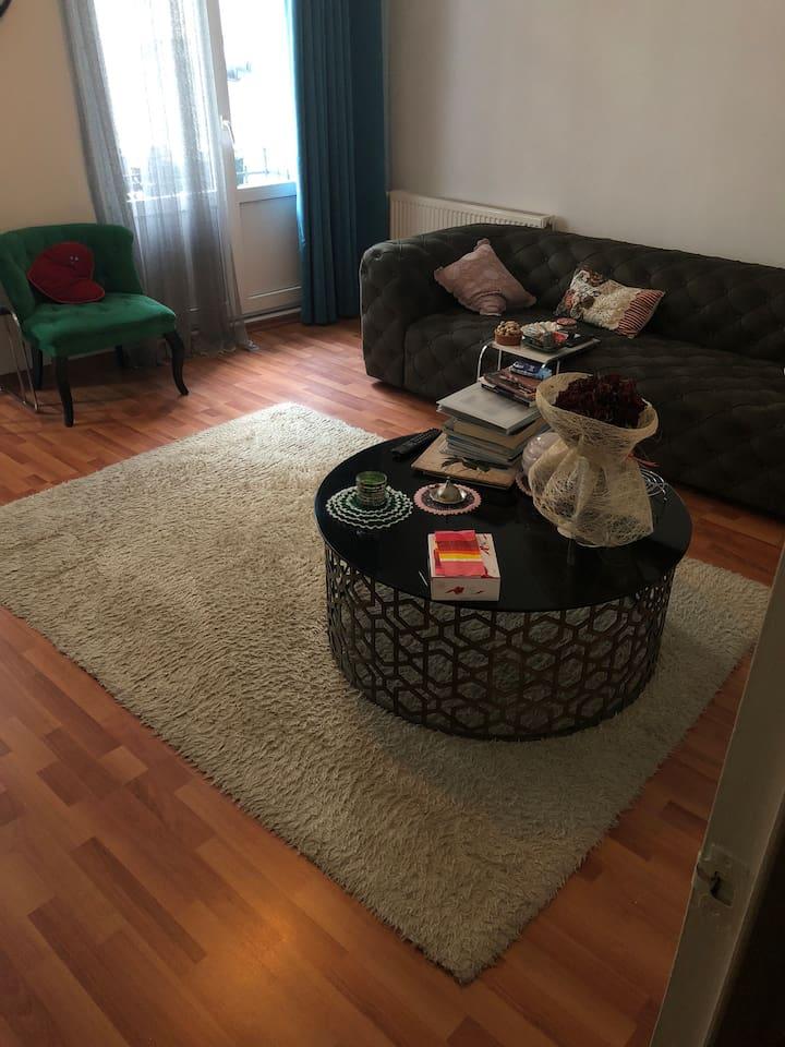 Salon oturma alanı dekor