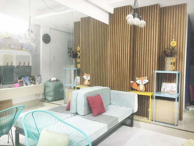 •#npk3• rooftop garden • 1 bedroom in cozy house •