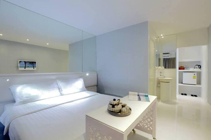 Design room in Phuket city center - Muang Phuket - Apartment