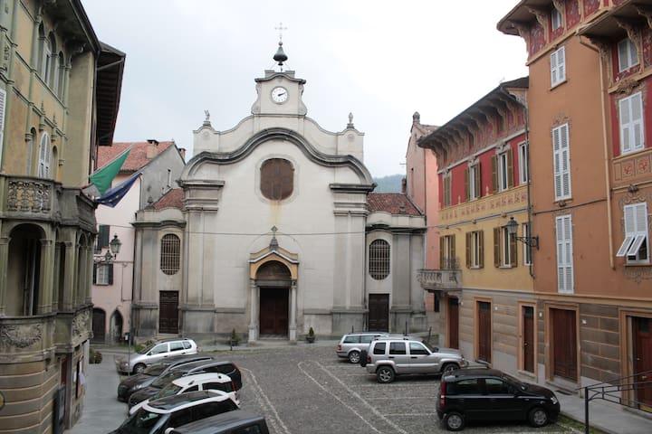 Piazza Roma oggi vista dal piccolo terrazzo