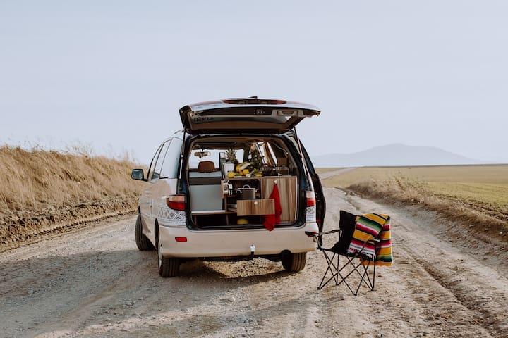 Campervan trip Tarifa - SURFCAMPERS van rental