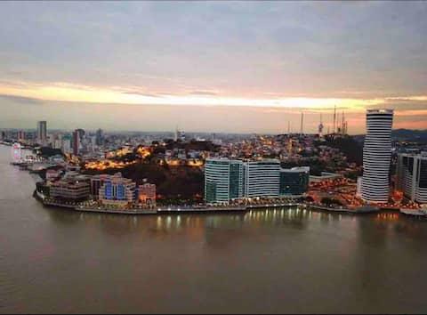 Lujoso departamento en la mejor zona de Guayaquil