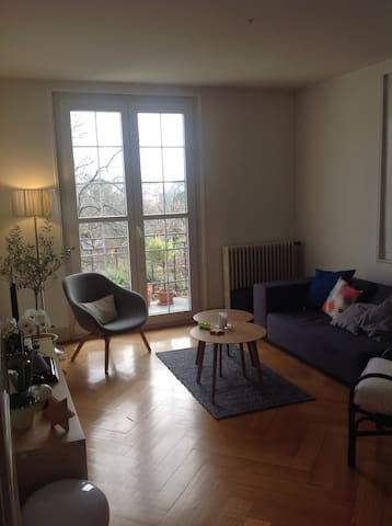 Calm and charm in town The flat - Morges - Appartement
