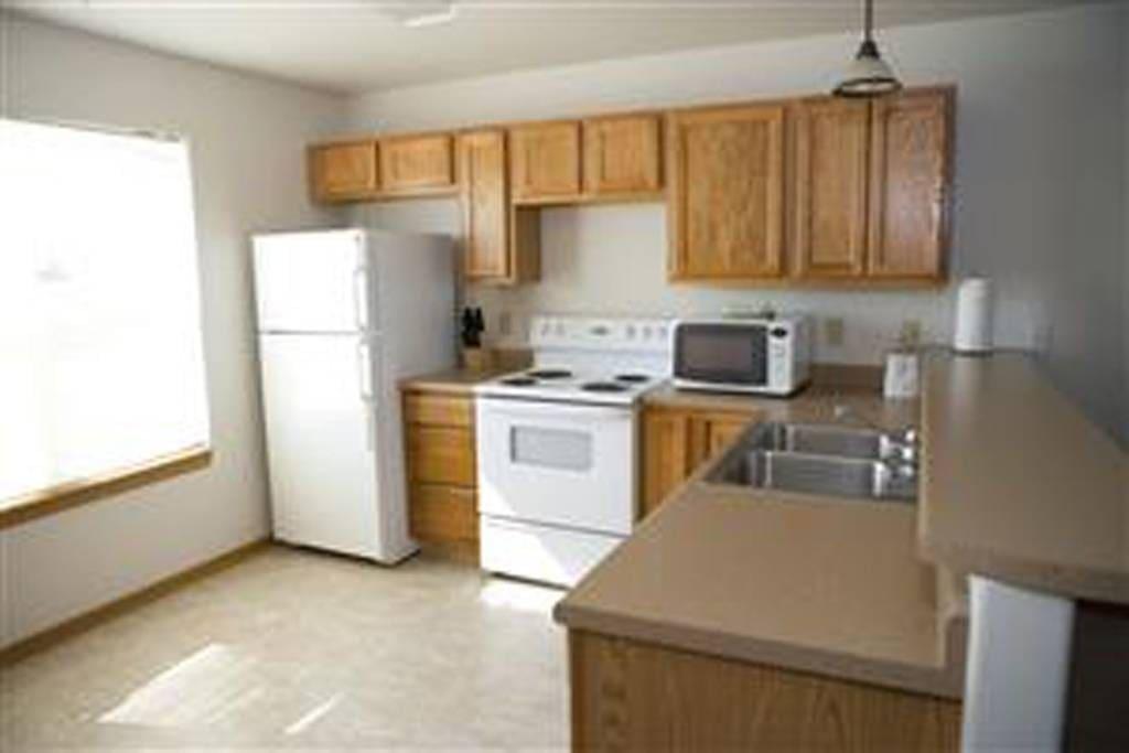 Full Kitchen in 2 Bedroom unit