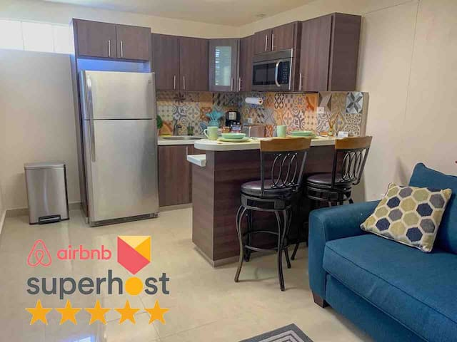 Remodeled apt with patio and laundry. Pet friendly
