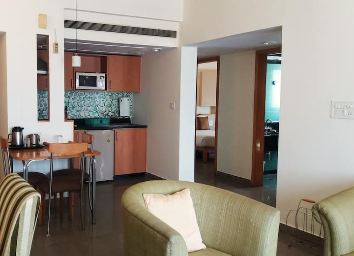 Two bedroom service apartment