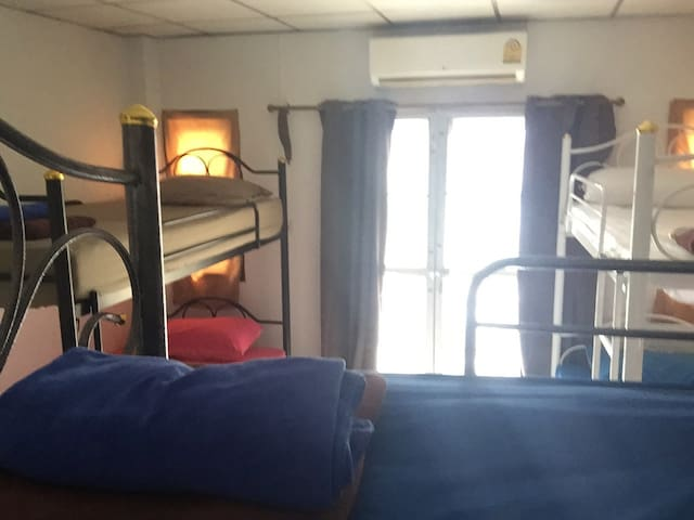 Mixed Dorm Room (bunk beds) at Noot's Place🙏🙏🙏