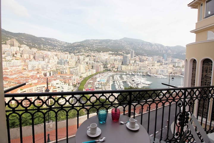 Monaco - Large sea view - Balcony -Air conditioned
