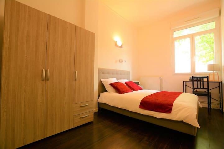 Chambres modernes - au calme