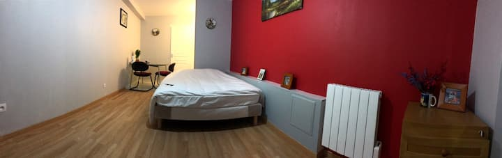 S5.Beautiful studio in the heart of Lyon3 PartDieu