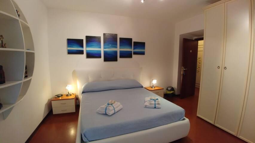 La Camera Blu della Casa di Elena