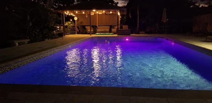 Private Pool Home near gulf coast beaches