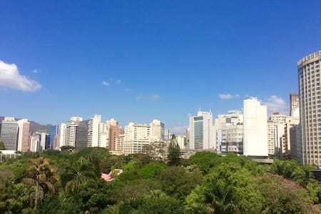 Vista privilegiada no centro de BH. - Belo Horizonte - Appartement