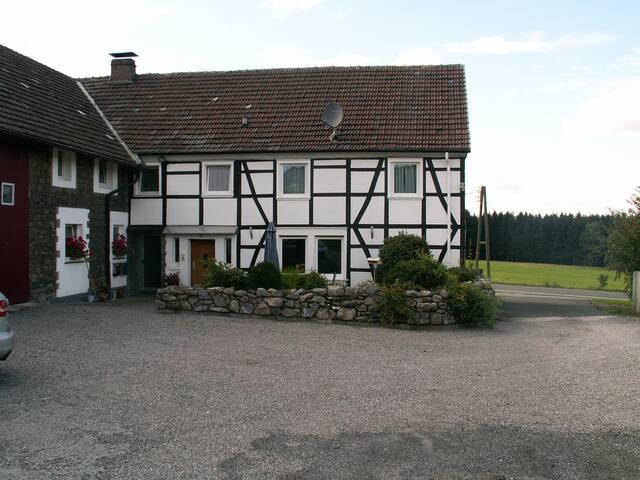 Altes Fachwerk-Bauernhaus