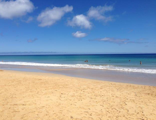 Apartamento situado melhor praia do Porto Santo