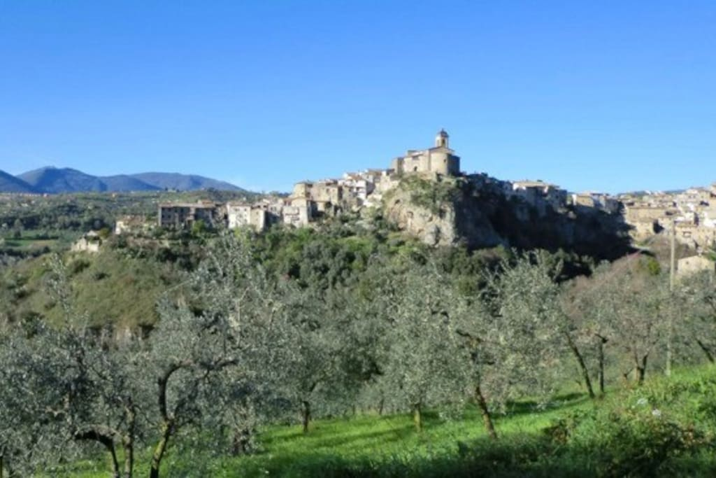 Your apartment is located  in the historic centre of this unspoilt medieval village.