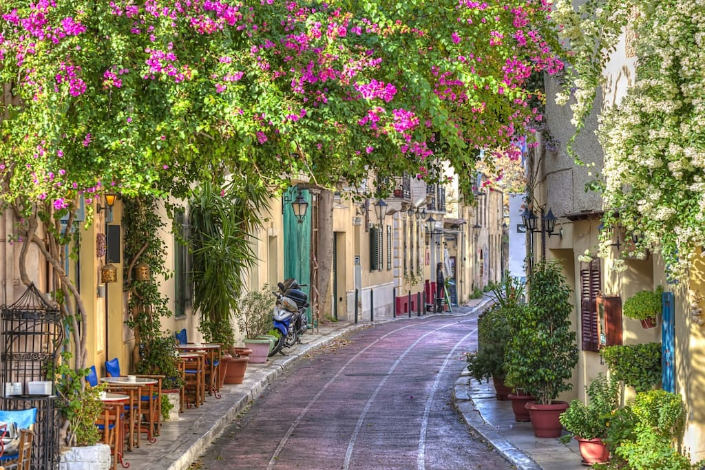 Many small streets to explore in Ancient Plaka Area