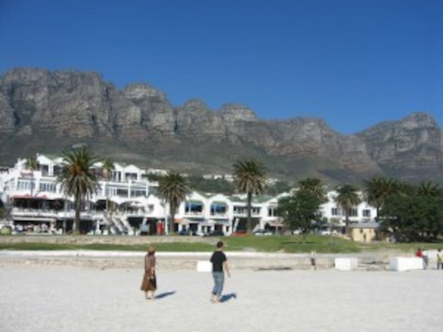 Camps Bay Beach - directly across from the apartment