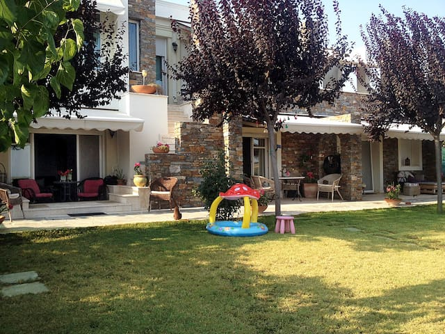 Apartment near Thessaloniki-Airport-Chalkidiki - Ano Scholari - Appartement