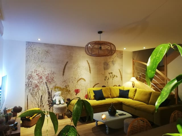 Appartement cosy au départ de la route des vins