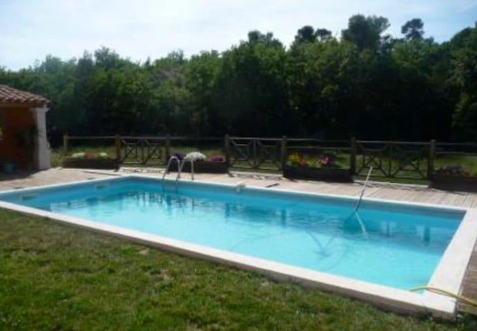 Chambre privée jolie villa Luberon - Mirabeau - Casa