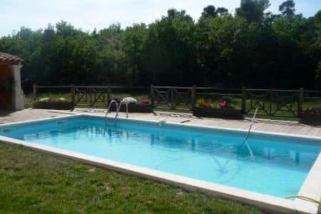 Chambre privé jolie villa Luberon - Mirabeau
