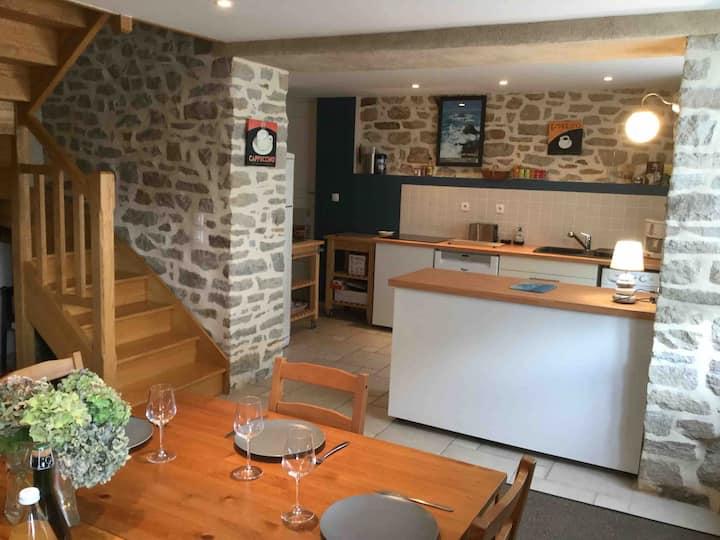 Maison bretonne de charme à 5mins à pied du port