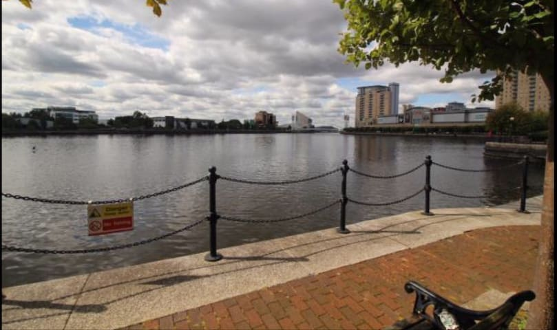 House in the Heart of Salford quays - Salford - Huis