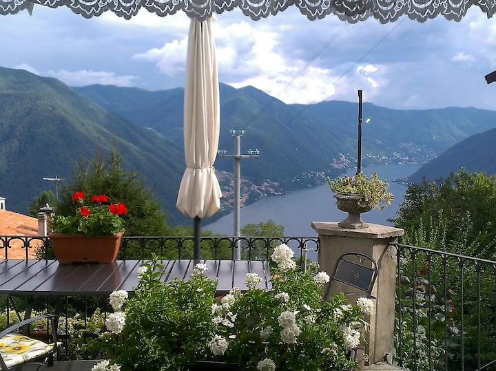 B&B La Finestra sul  Lago Como-Pigra