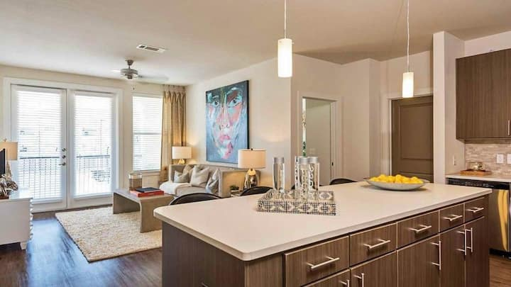 Stay as long as you want | 1BR in Katy