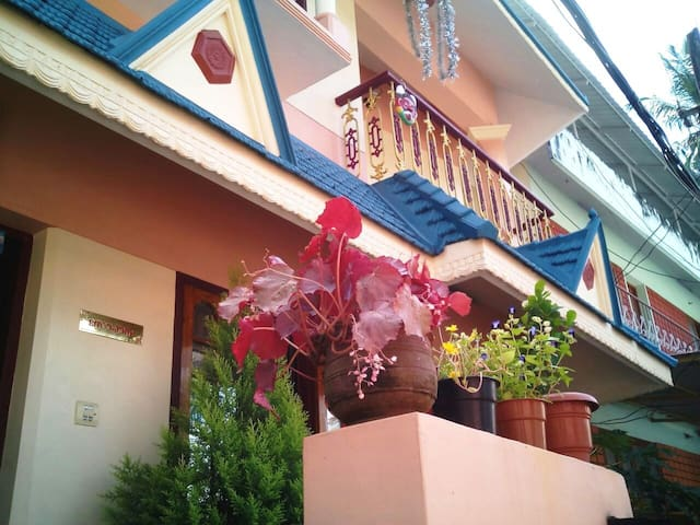 ❤ AC,Cozy,Clean,Green homestay in Trivandrum city! - Thiruvananthapuram - บ้าน