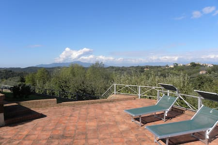 Scenic villa 30min to Pisa & S Gimignano NO BILLS - Palaia