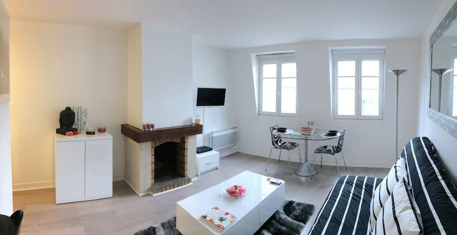 Duplex avec terrasse à 3 min du Musée du Louvre - Paris - Apartment