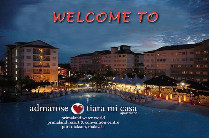 FAMILY SUITE @ admarose tiara mi casa - Negeri Sembilan - Apartment