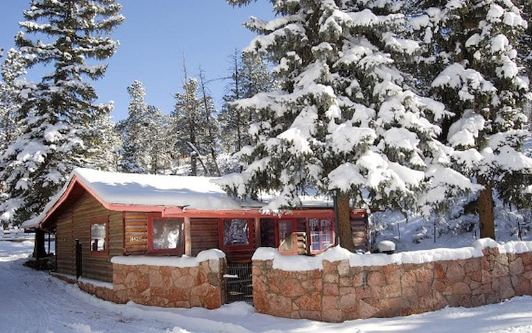 Cabin rental at Pikes Peak near Colorado Springs - Cascade-Chipita Park - Hytte