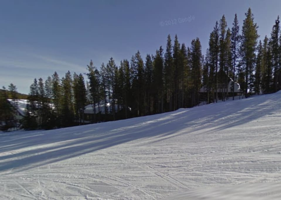 This is why its called On the Run! Located ski in/ski out.