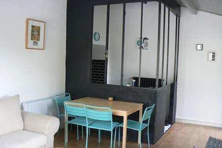 Appartemt avec terrasse vue/Loire - Bouzillé - Apartament