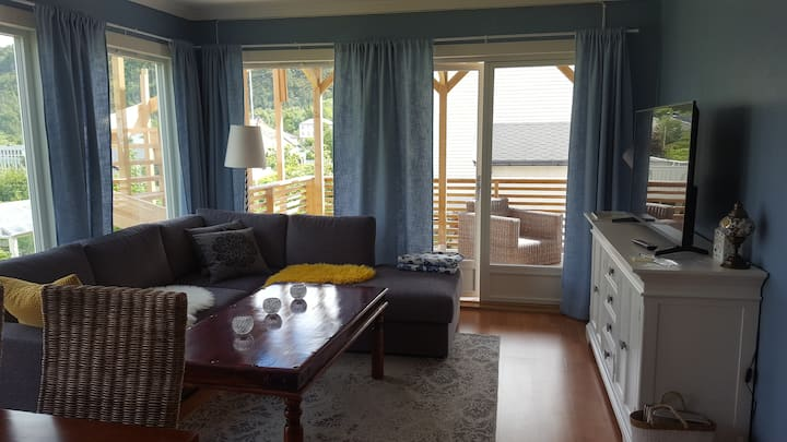Nice and cozy apartament near Ålesund ( 3 km)