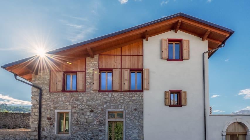 Villa tra i vigneti a Rovereto in Trentino