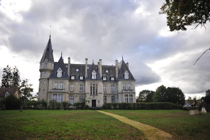 Logement 125m2 dans un château au cœur de la forêt