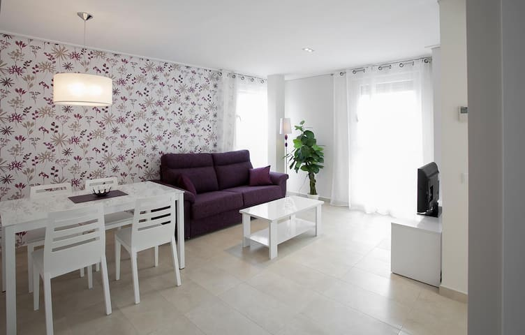Apartamento de Diseño Beach & Port, WIFI, A/A.. - Grau i Platja - Appartement