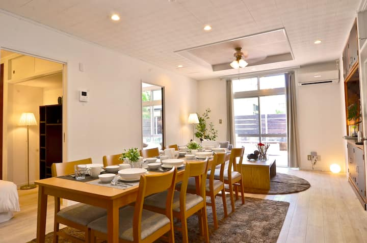 Chatan House/Ocean Sunset/Free parking/8PAX/41X