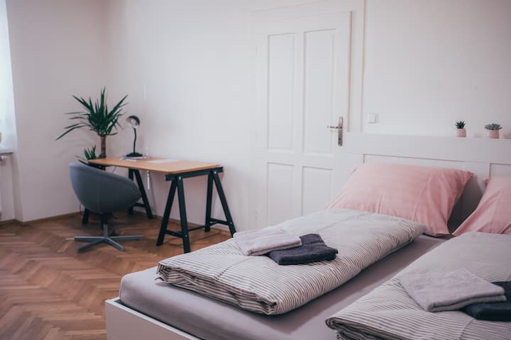 Stay in stylish and clean place - near downtown