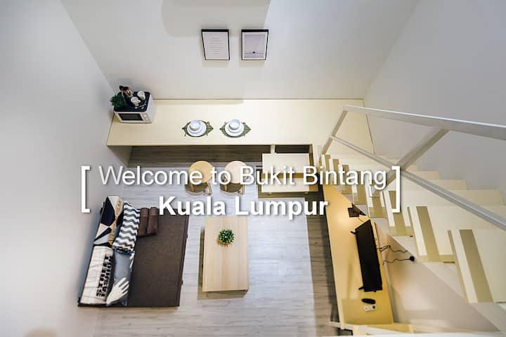 KS08- Truly Bright & Stylist Room in Bukit Bintang