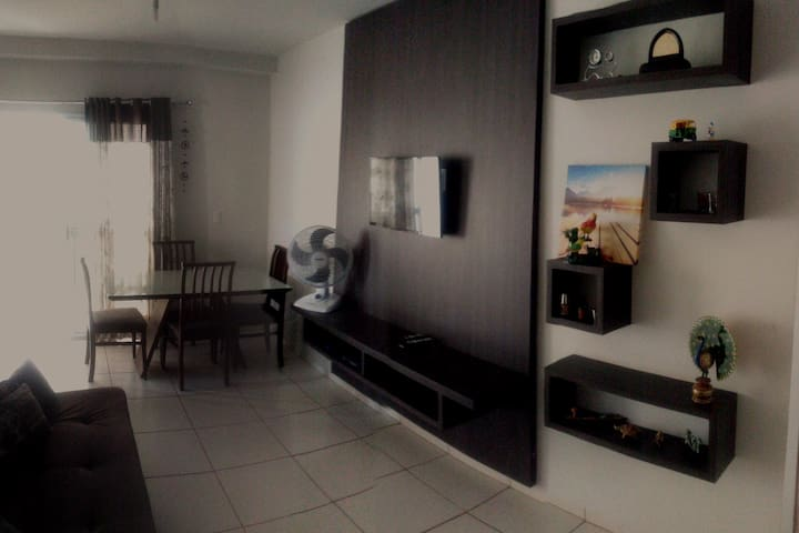 Ótimo apartamento no centro da capital.