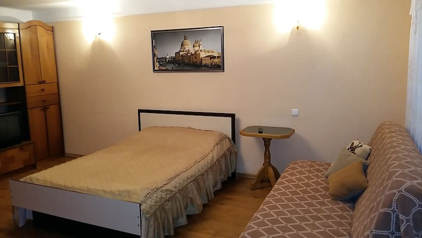 Cozy apartment with Wi-Fi. Centre. - Sumy - Apartamento