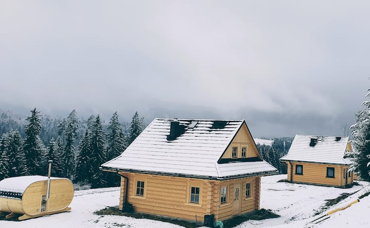 Koniakowo dom w stylu góralskim
