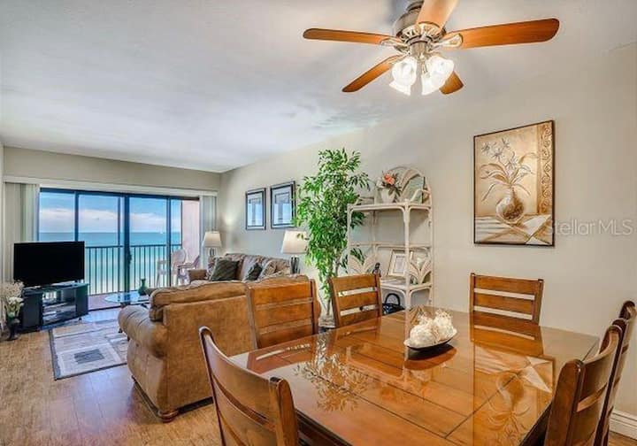 Beautifully Updated Beach Front Condo
