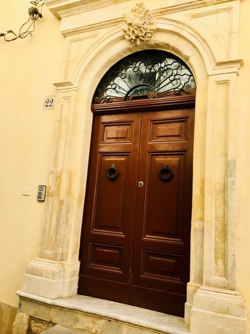 La porta d'ingresso